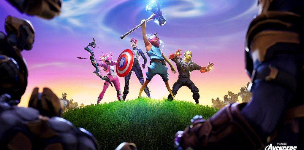 Avengers Endgame: Thanos invadió la isla de Fortnite