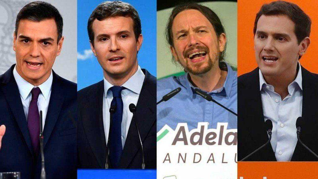 Cierre de campaña de las elecciones en España