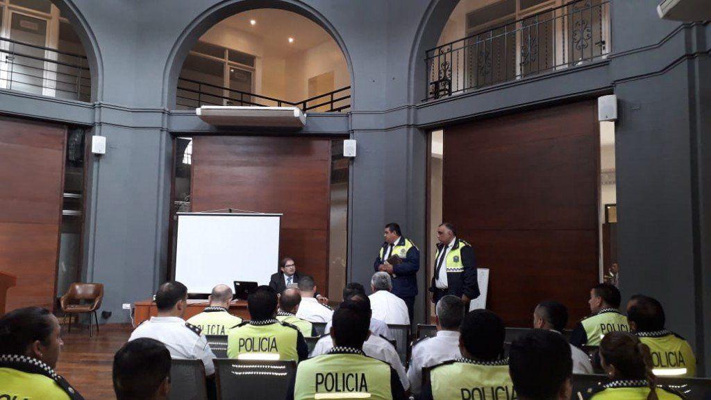 Se realizó un capacitación sobre la Reforma Procesal Penal