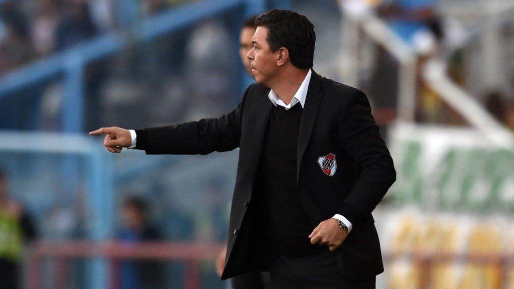 Gallardo explicó el reto a Ferreira