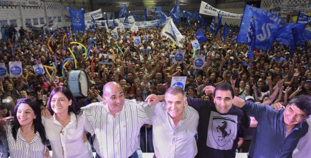 Manzur y Jaldo participaron del lanzamiento de Elia Fernández de Mansilla en Aguilares