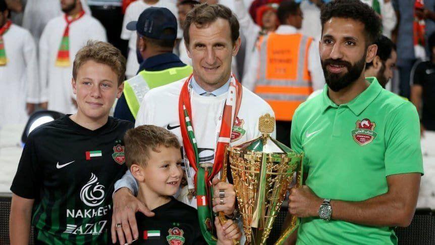 Arruabarrena gritó campeón en Emiratos Árabes