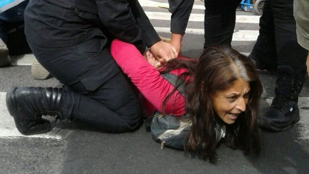 Marcha por paro nacional: detuvieron a al menos 32 manifestantes