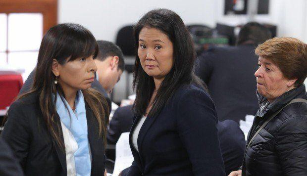 La Justicia peruana analizará la excarcelación de la ex candidata Keiko Fujimori