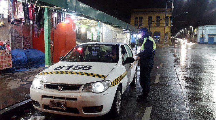 La Policía realizó controles preventivos en los medios de transporte