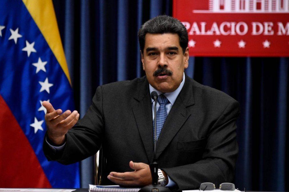 Maduro llamó a las Fuerzas Armadas a mantener la lealtad absoluta
