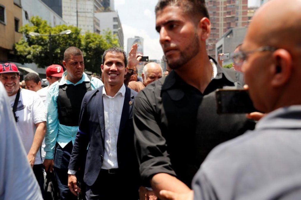 Crisis en Venezuela: Guaidó llamó a mantener las protestas
