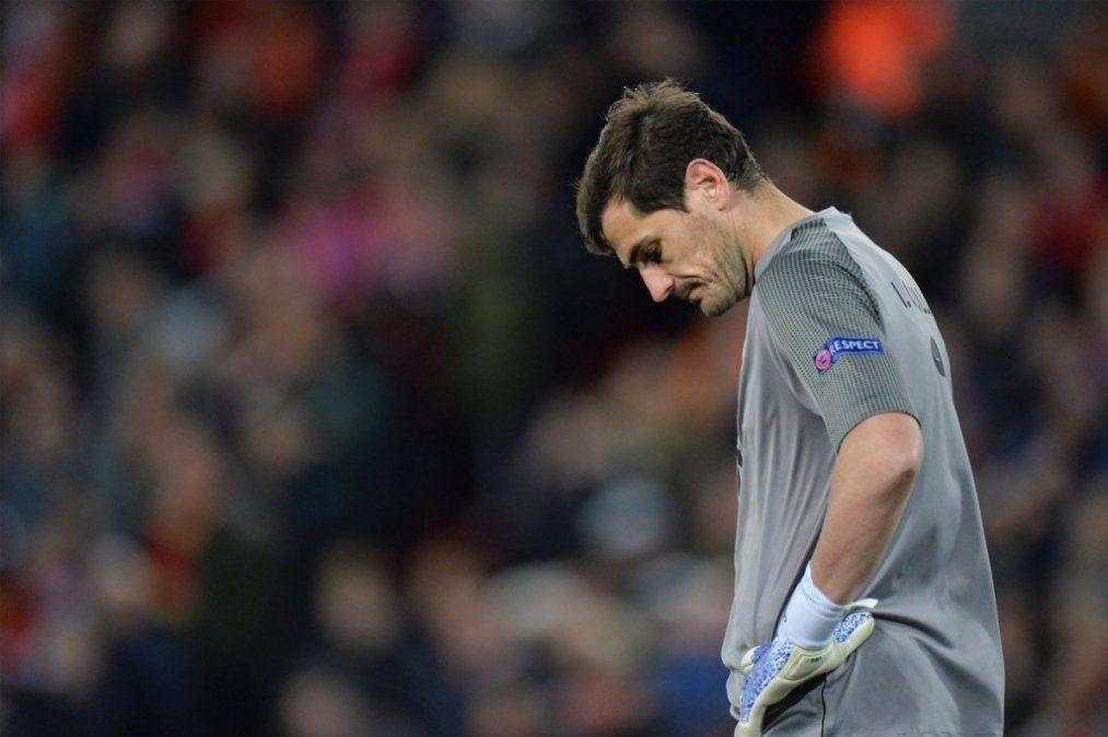 Iker Casillas sufrió un infarto en un entrenamiento: está fuera de peligro