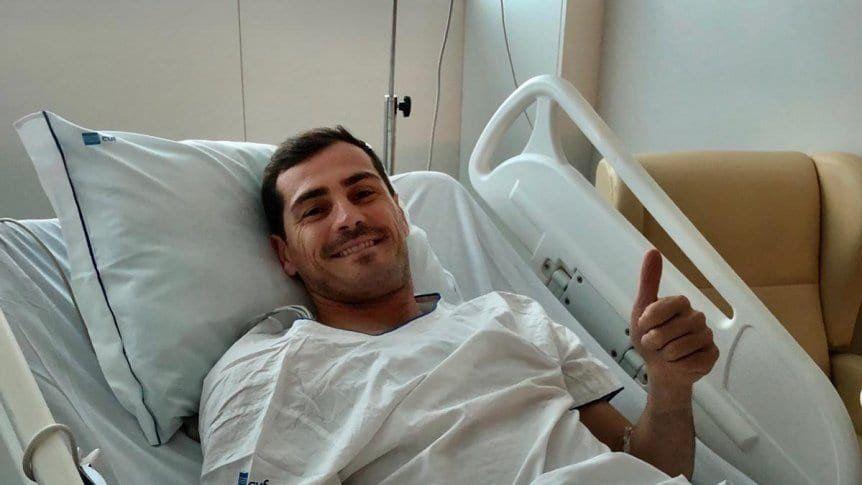 El mensaje de Iker Casillas tras el infarto