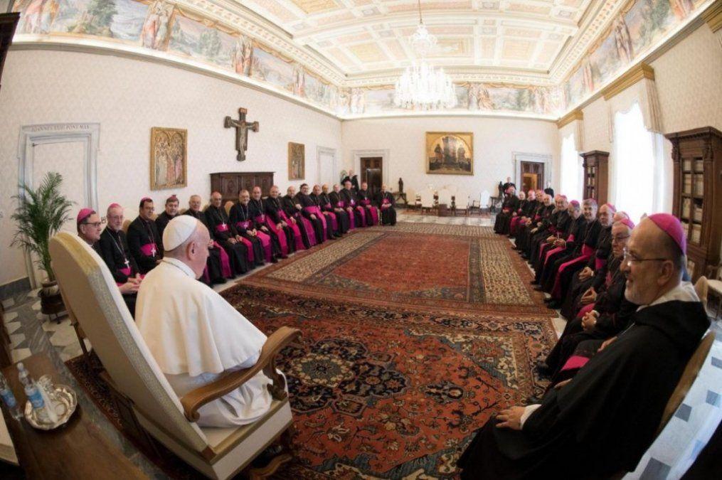 El Papa se mostró preocupado por las divisiones en Argentina