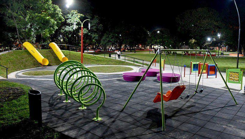 Se inauguró en zona sur un espacio para niños con capacidades especiales