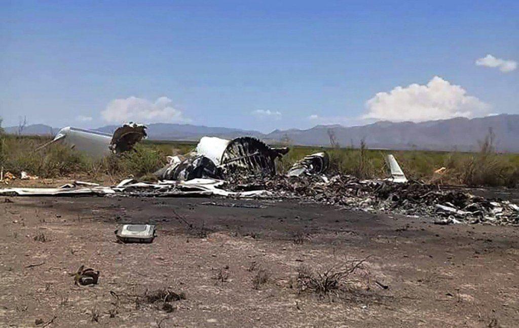 El Jet que estaba desaparecido en México se estrelló y murieron 13 personas