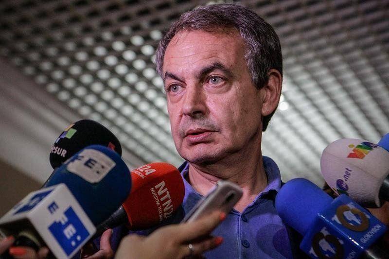 Para Zapatero, Venezuela prosperará defendiendo 'negociación, dialogo y acuerdo'