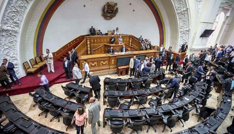 Diputados opositores denunciaron el amedrentamiento de colectivos chavistas
