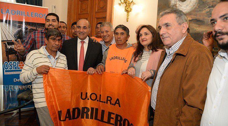 Una ley beneficiará a trabajadores ladrilleros