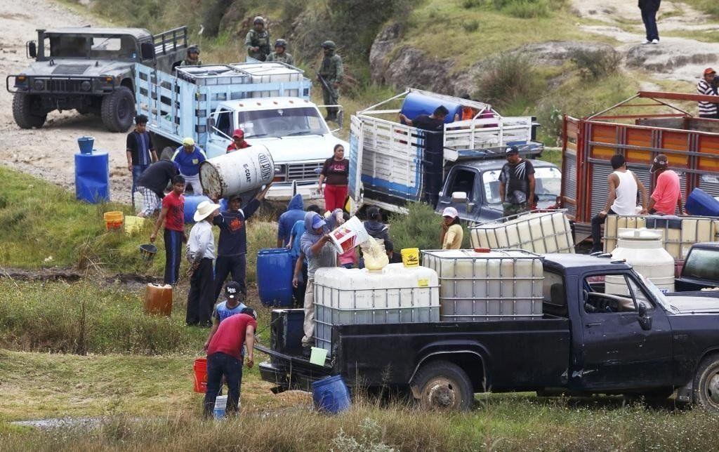 Según el gobierno mexicano, el robo de combustible bajó un 95%