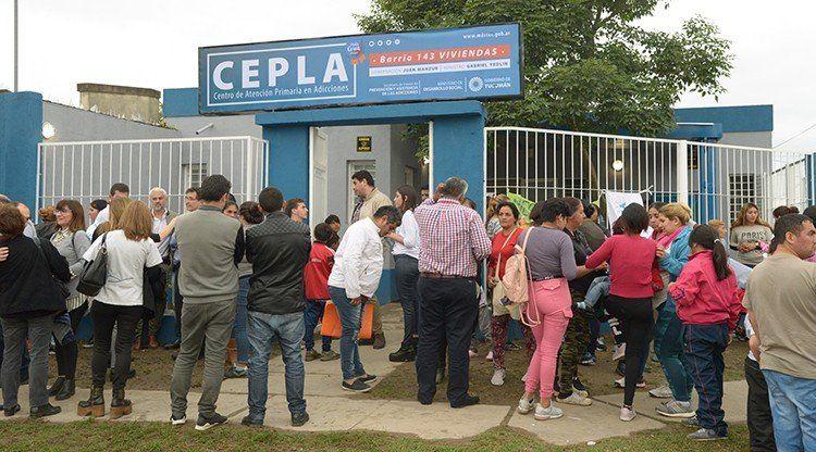 Inauguraron un Centro de Atención Primaria en Adicciones en el barrio 143 Viviendas