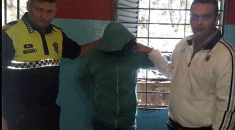 Fue detenido el asaltante que había sido filmado