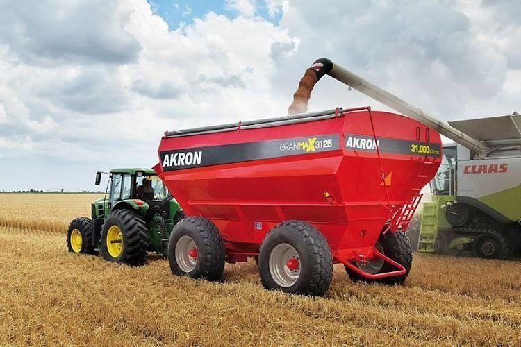 La venta de maquinaria agrícola creció 62,5%