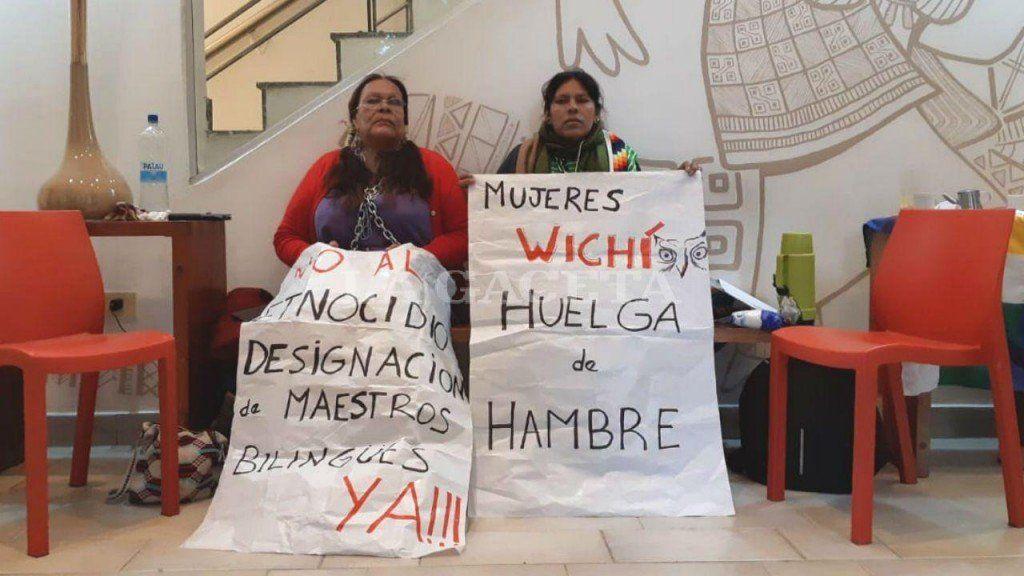 Finalizó la huelga de hambre de referentes wichis
