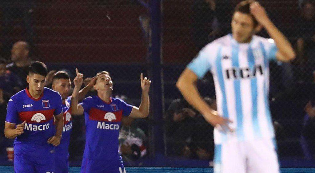 Racing perdió 2 a 0 con Tigre en los cuartos de la Copa de la Superliga