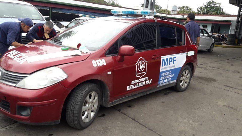 """Ya se utilizan los """"vehículos recuperados del delito"""""""