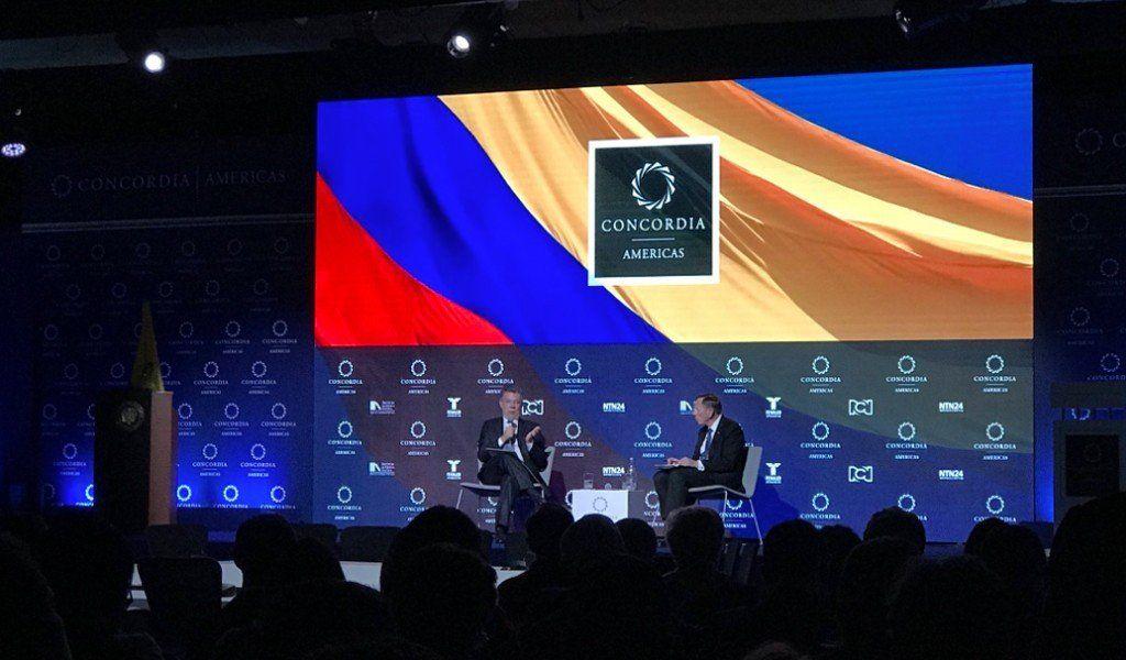 La Cumbre Concordia de Bogotá tratará la crisis venezolana como eje