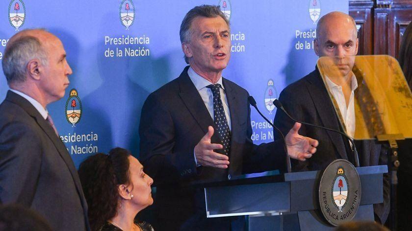 Macri volvió a hacer referencias a la lucha contra el narcotráfico