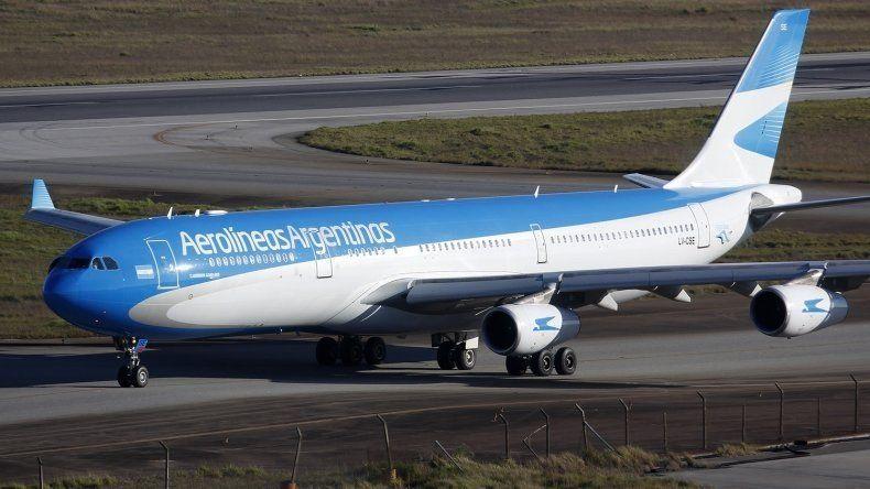 Aerolíneas Argentinas recuperó terreno