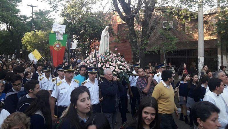 Con distintas actividades, se celebra la Fiesta de la Virgen de Fátima