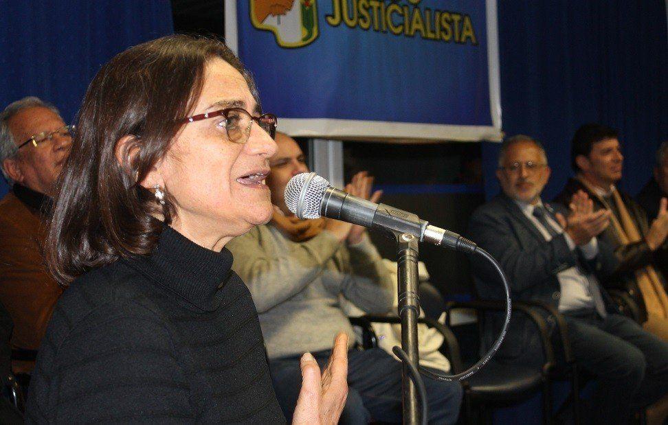 Lucía Corpacci continuará en la conducción del PJ local