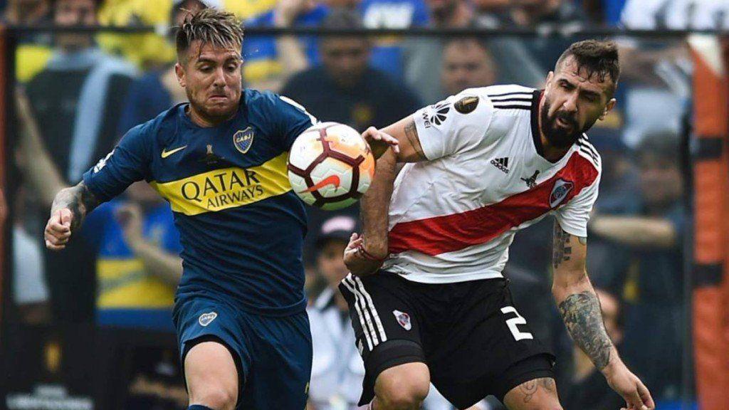 Boca-River en octavos de la Libertadores... según un simulacro