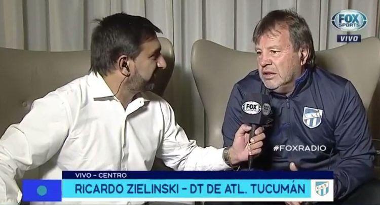 Zielinski habló del gran presente de Atlético Tucumán