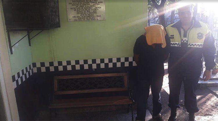 Detuvieron a un conocido delicuente del barrio Padilla