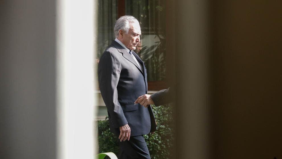 La Justicia de Brasil ordenó liberar a Michel Temer