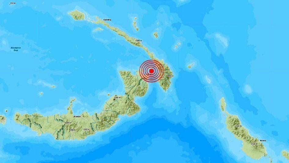 Un terremoto de 7,5 sacudió Papúa Nueva Guinea y activa alarma de tsunami en partes del Pacífico