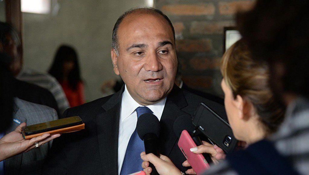 Permanentemente pido la unidad del peronismo, dijo Manzur