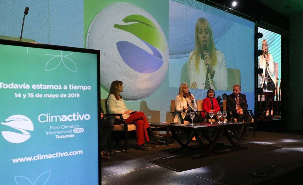 La ministra Rossana Chahla cerró el Foro Climactivo en Tucumán