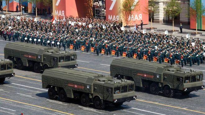 La venta de armamento pesado de Rusia está en declive