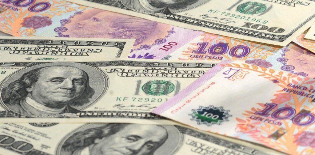 El dólar tuvo una caída de 20 centavos y cerró en $45,96