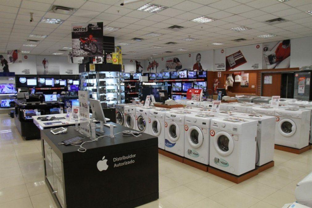 Electrodomésticos: Las ventas se derrumbaron un 29%