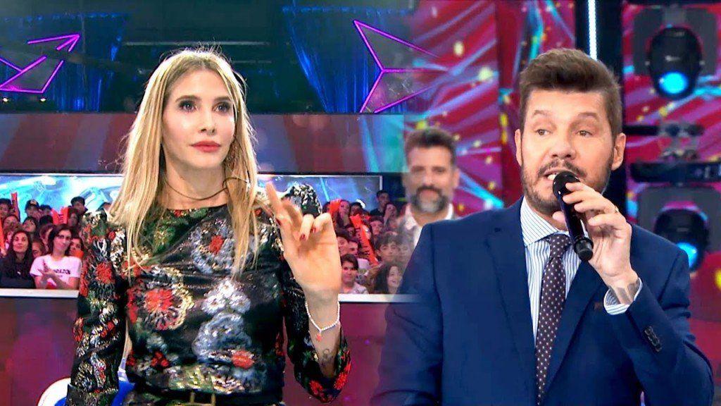 Guillermina Valdez dijo no y puso en apuros a su marido y conductor Marcelo Tinelli