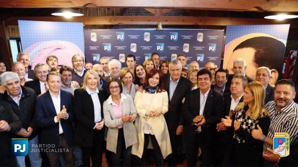 El Partido Justicialista apoya la fórmula Alberto Fernández-Cristina Kirchner