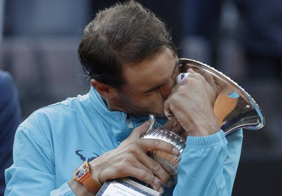Nadal venció a Djokovic y se consagró campeón en Roma
