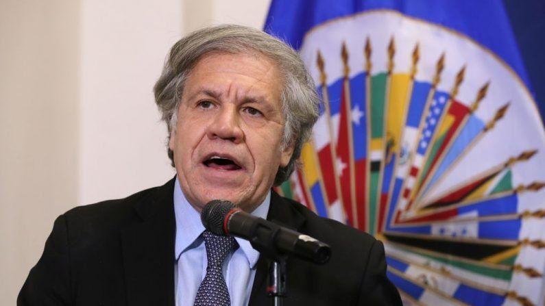 Almagro llamó de nuevo a un proceso de transición democrática