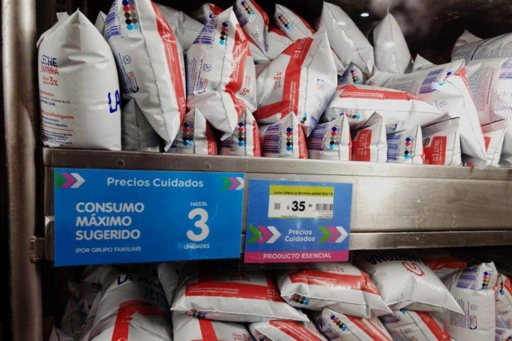Precios Esenciales: Advierten que no se consiguen lácteos