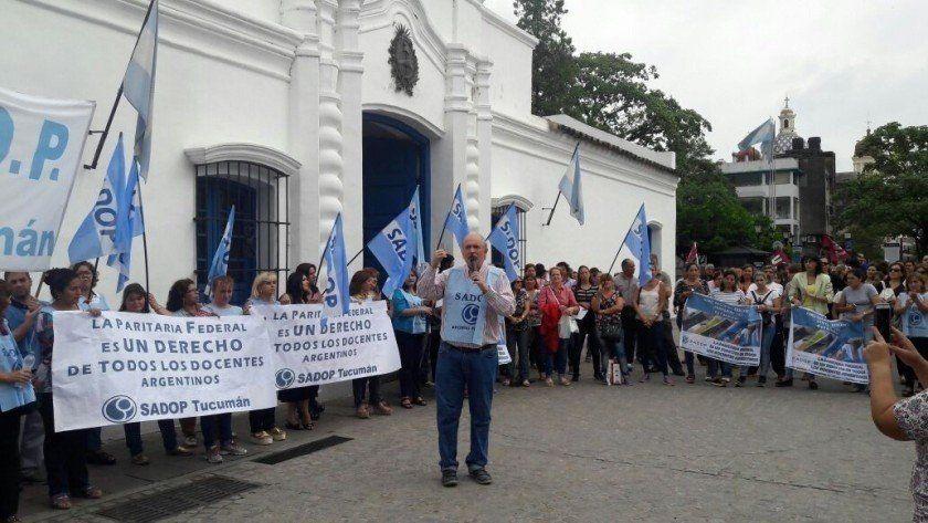 SADOP Tucumán se sumará a la huelga del miércoles 29 de mayo