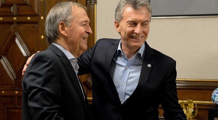 Macri y Schiaretti discutieron puntos del acuerdo de gobernabilidad