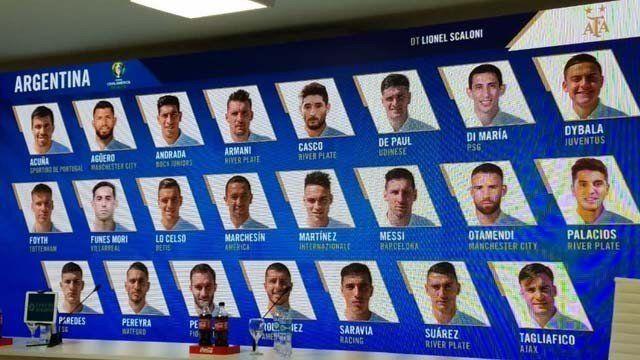 La temporada de los 23 convocados
