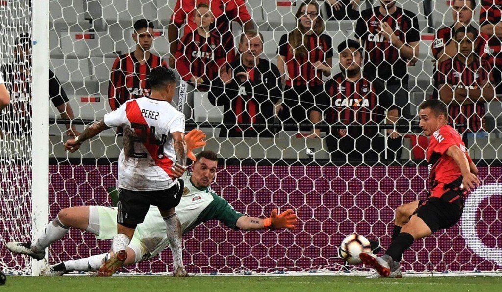 River no pudo ante Athletico Paranaense